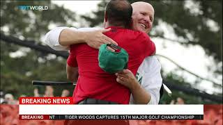 Tiger Woods wins 2019 Masters golf tournament