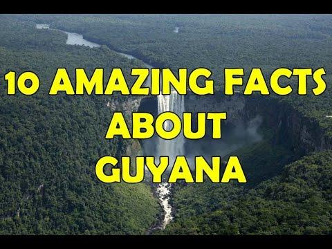10 AMAZING FACTS ABOUT GUYANA