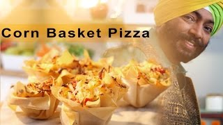 Corn Basket Pizza - Festive Recipe
