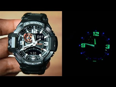 Casio G-shock Gravity Master GA-1000-1A : Unboxing