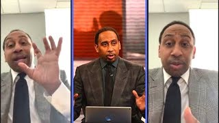 """Stephen A Smith """"Saints Got Robbed, Lebron Needs Klay"""" and More"""