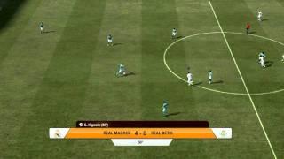 Fifa 12 Gameplay - Real Madrid vs. Real Betis PC