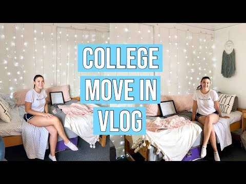 COLLEGE MOVE IN DAY VLOG 2018| Marquette University