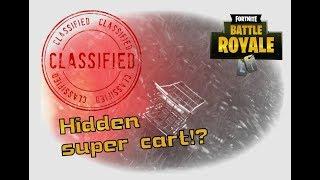 FORTNITE SECRET CART? - Fortnite battle royal gameplay and funny moments