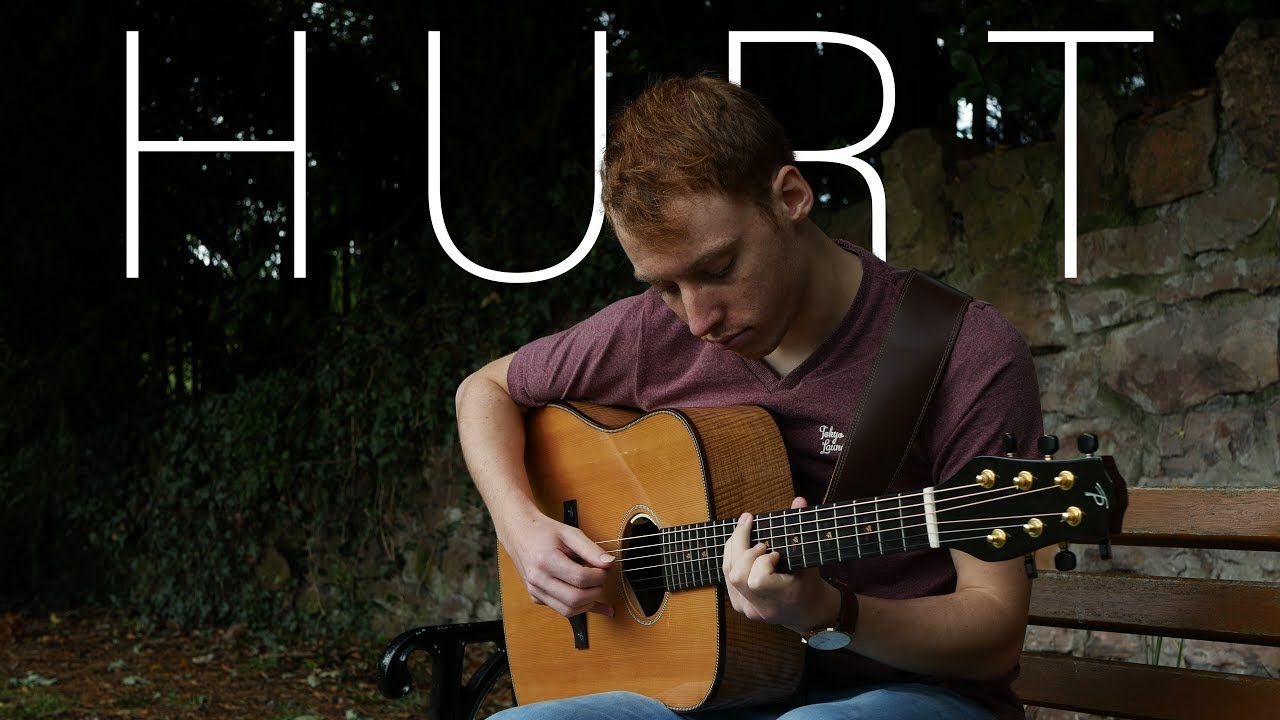 Hurt - Johnny Cash/Nine Inch Nails - Fingerstyle Guitar Cover by ...