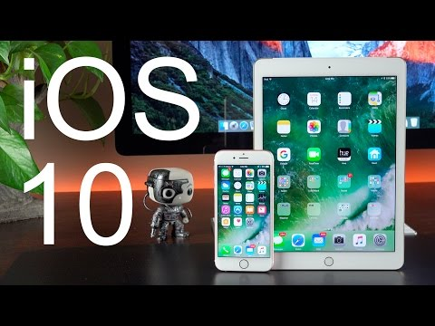 Apple iOS 10: Overview