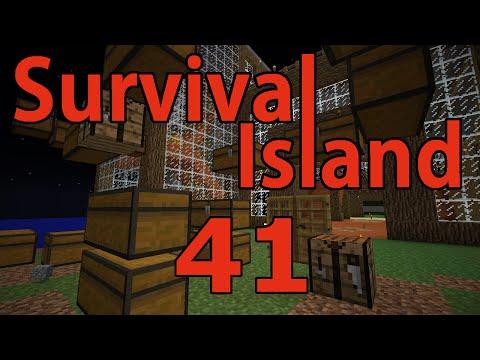 Minecraft- Survival Island [41] New Storage Area!