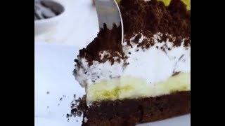 Вкуснейший торт с бананами и сливками