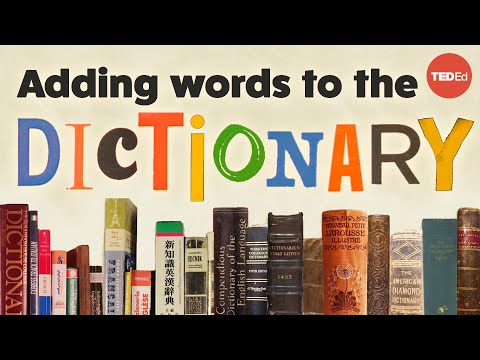 How to get a word added to the dictionary - Ilan Stavans