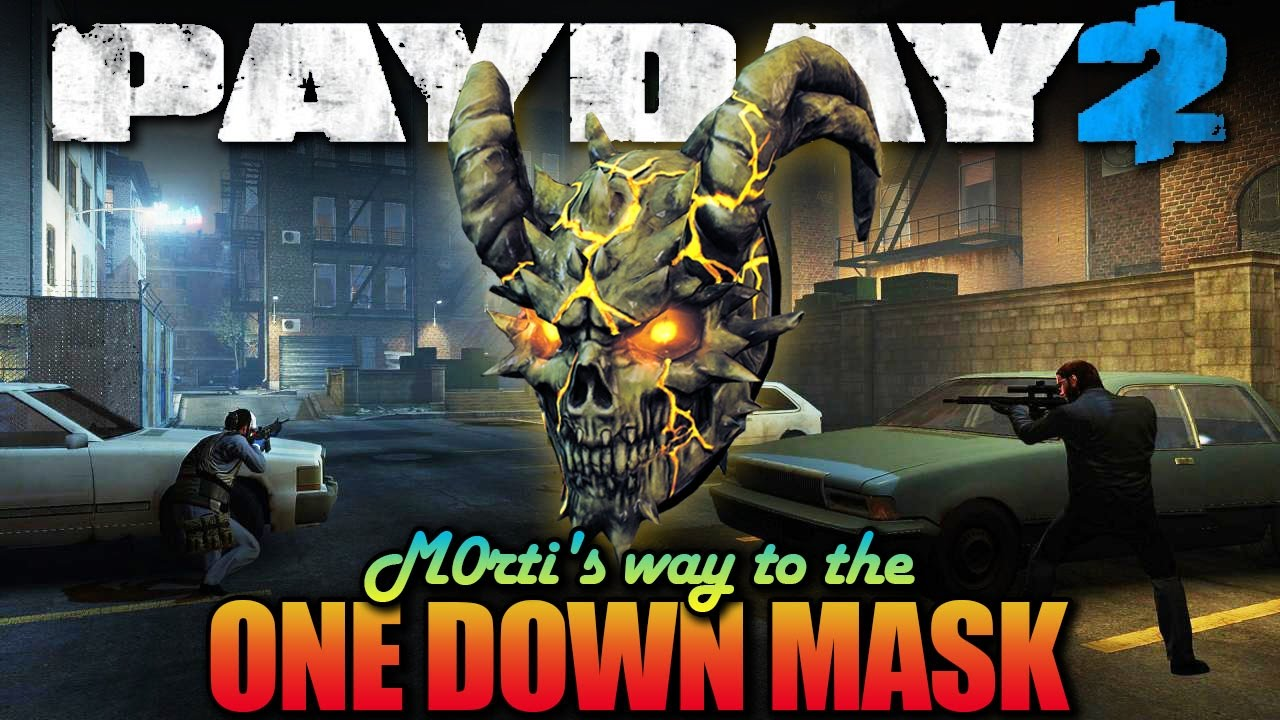 LAST EPISODE! Brooklyn 10-10 - One Down (Payday 2 - M0rti's way to the OD  Mask)