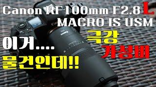 Canon RF100mm F2.8 L MACRO IS …