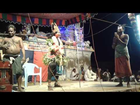 therukoothu medai nadagam in koralur village...