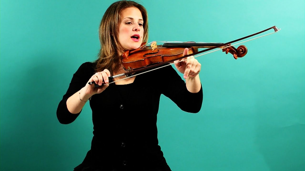 Bow Division While Bowing Open Strings | Violin Lessons