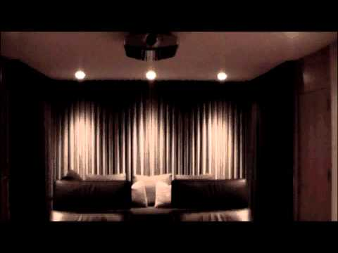 Home Theater Motorized Drapery By Dl Solutions Youtube