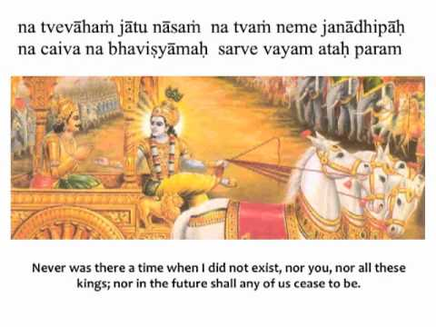 Image result for bhagavad gita chapter 2, verse 12