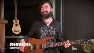 CÉSAR HUESCA en Revista GuitarraMX