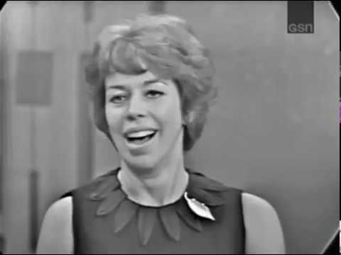 PASSWORD 1963-09-16 Carol Burnett & Anthony Perkins