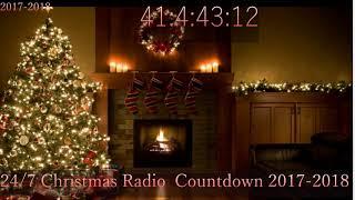 24/7 Christmas Radio  Countdown 2017-2018