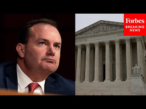 'Baffled By The Hysteria Of The Left': Mike Lee Rebukes Padilla's Arguments Against J