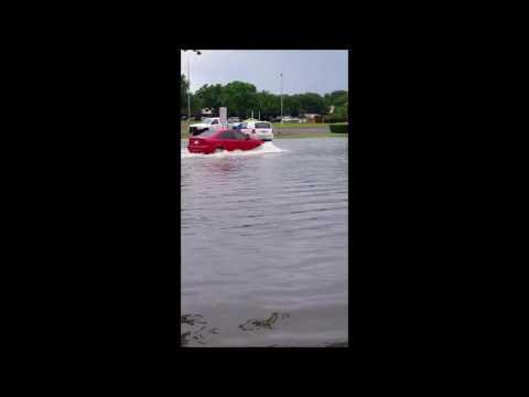 Flood In Lubbock TX  6-01-2016