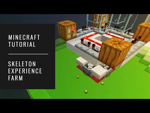 Skeleton Experience Farm - Minecraft Tutorial (AUTOMATIC XP FARM) [SIMPLE] thumbnail