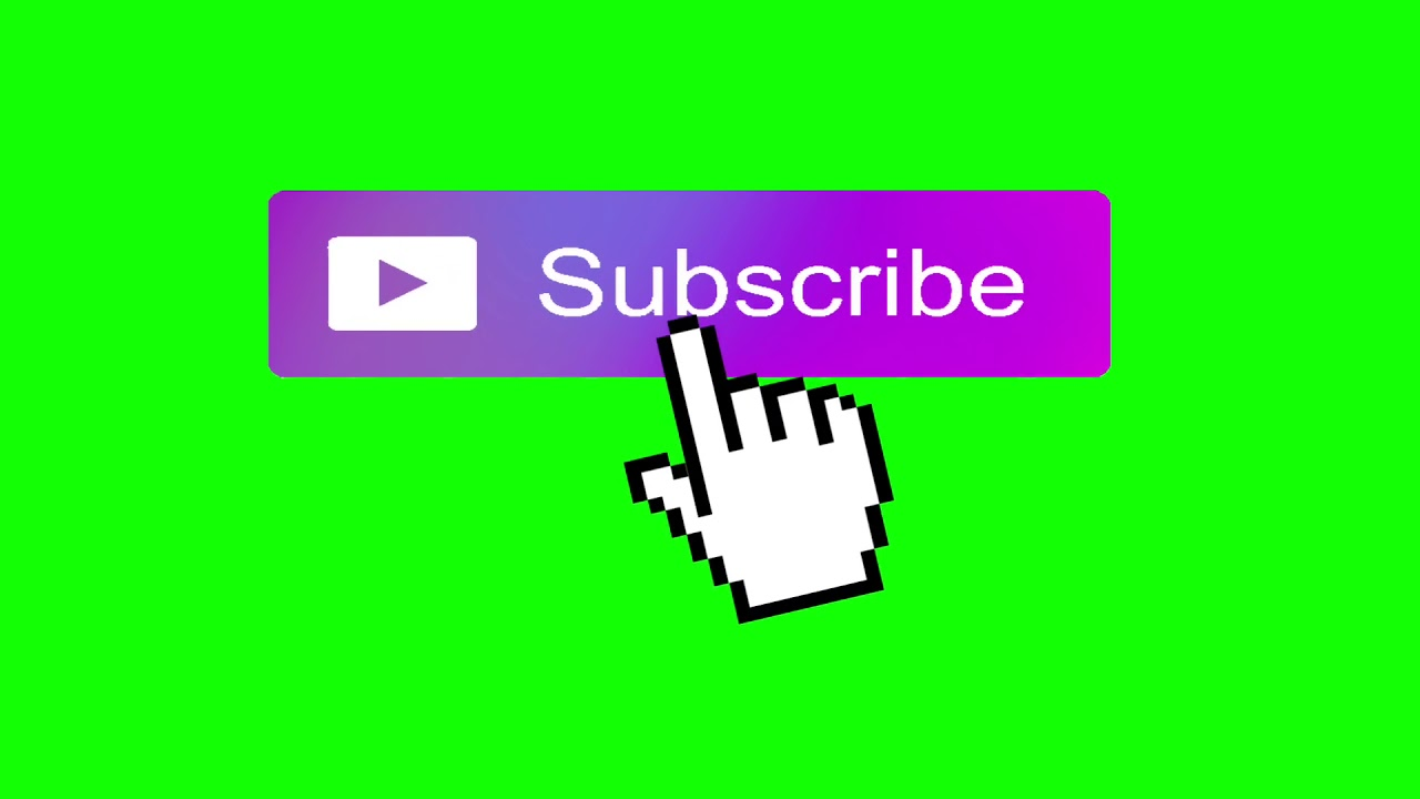 6 Purple Subscribe Button Green Screen Youtube Greenscreen Free Green Screen Youtube Design