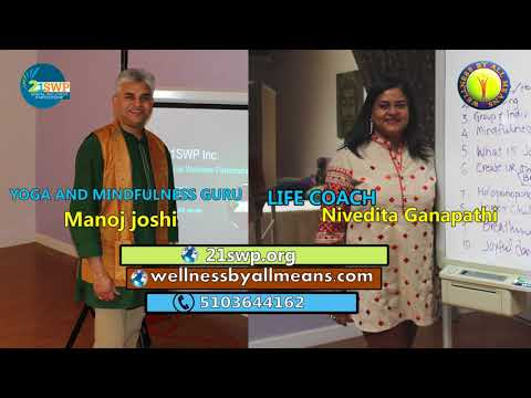 Wellness Talk Show 04 with Manoj Joshi and  Nivedita Ganapathi
