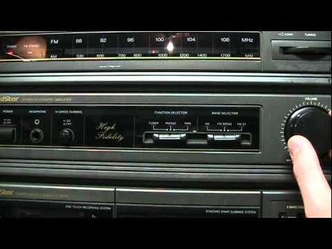 1993 GoldStar FM-22A stereo system