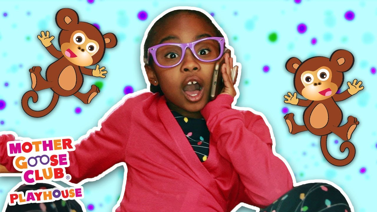 Five Little Monkeys + More   Mother Goose Club Playhouse Songs & Rhymes