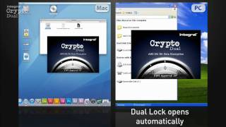 Integral Crypto Dual  - Encrypted USB Flash Drive