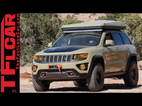 jeep grand cherokee overlander concept an off road mobile. Black Bedroom Furniture Sets. Home Design Ideas