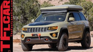 Jeep Grand Cherokee Overlander Concept: An Off-Road Mobile Home