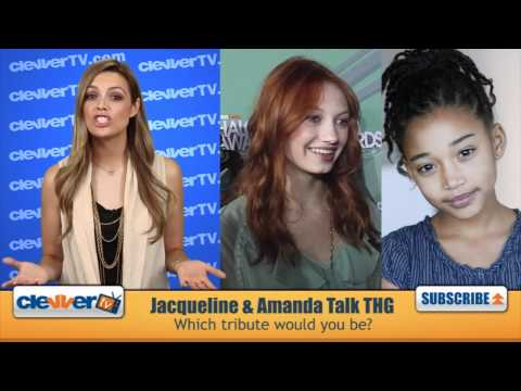 'The Hunger Games' Stars Jacqueline Emerson & Amandla Stenberg Talk Casting & On Set