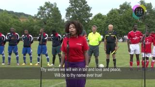 Cameroon National Anthem at the Closing Ceremony of Challenge Camerounais 2012