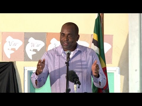 Prime Minister addresses Castle Bruce Village Council Inauguration
