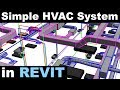 Simple Mechanical System in Revit Tutorial