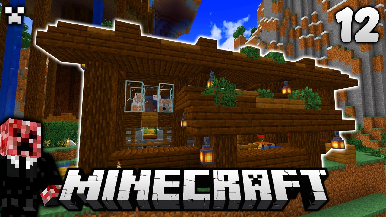 The Multi-Barn! | Let's Play Minecraft Survival Ep.12