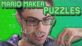 Mario Maker - Alien Hieroglyphics (Super Creative Puzzles!) | Perplexing Puzzles #1