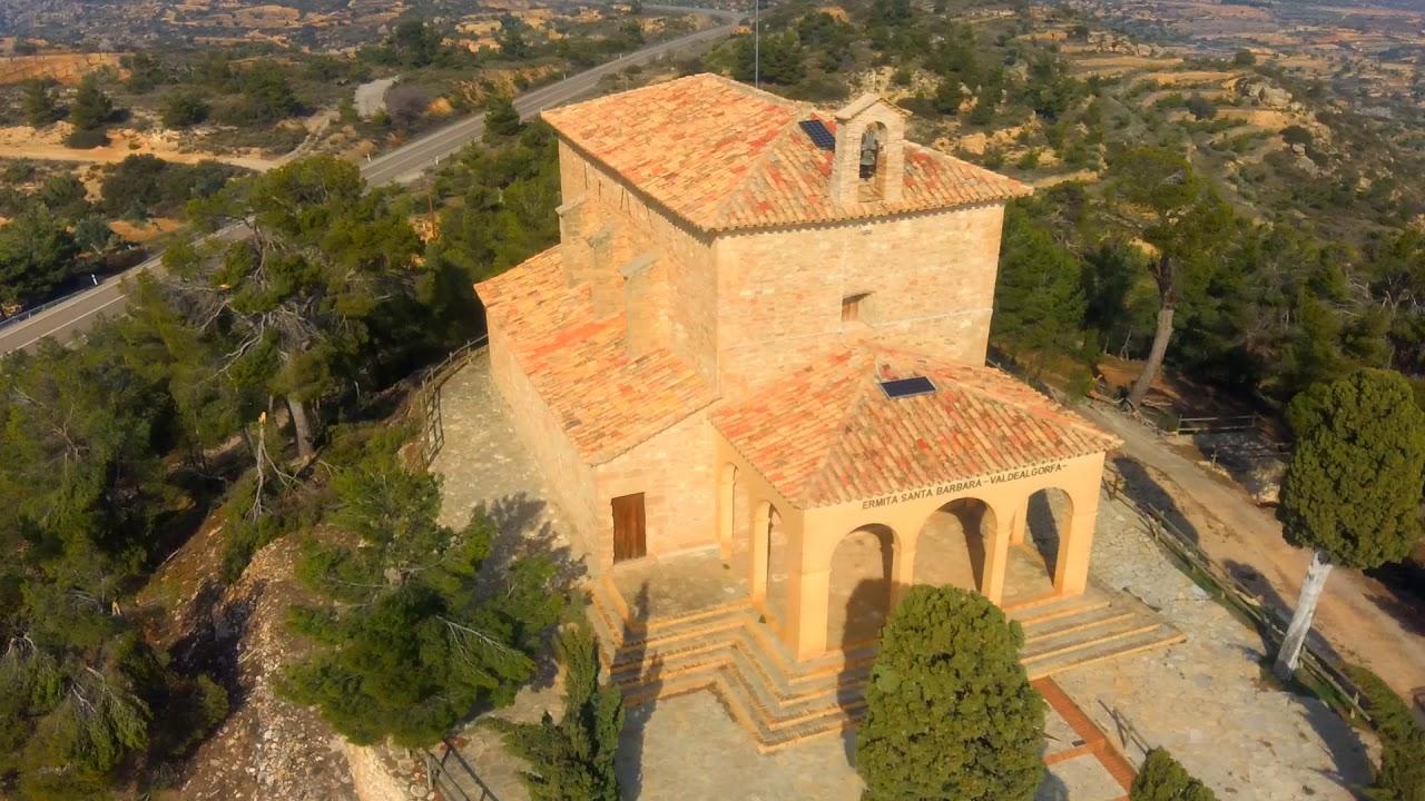 Ermita Santa Bárbara VALDEALGORFA - YouTube