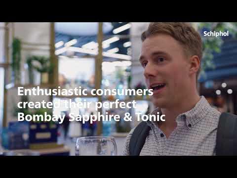 Schiphol Media Bombay Gin Promo Point