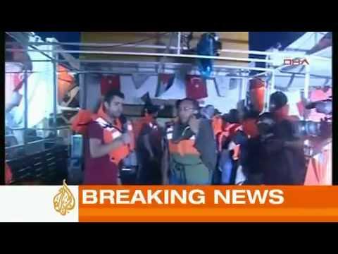 Israel Attacks Gaza Aid Fleet