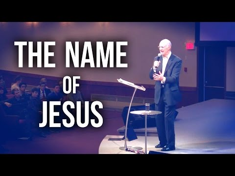 """The Name of Jesus"" – Bro. Lee Stoneking"