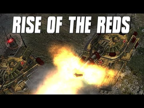 Russia Super Tanks and Nukes Rise of the Reds Command & Conquer: Generals Zero Hour Mod