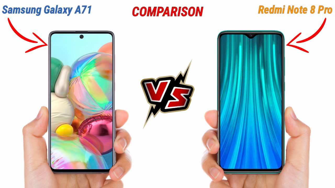 Photo of Samsung Galaxy A71 vs Redmi Note 8 Pro | Full Comparison | Which is Best 🔥 Most Watch. – سامسونج