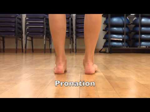 ee5d5c1bb9d Foot Position: Pronation vs. Supination - YouTube