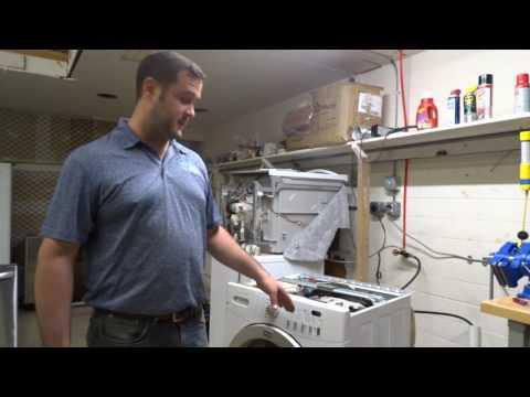 Frigidaire Affinity Front-Load Washer - EbE (E6E) Error Code - Control Board