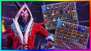 "Before You Buy ""KRAMPUS"" - All Skin and Back Bling's Combinations in Fortnite"