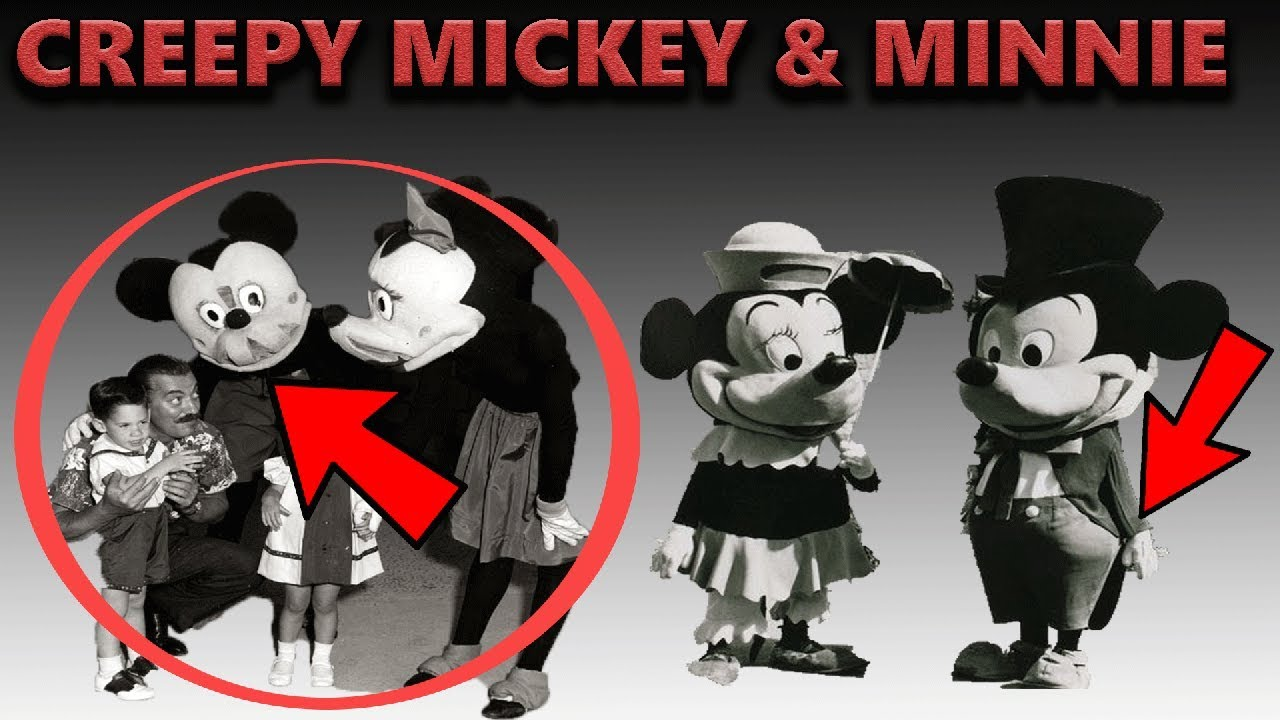 Creepy Disney Mickey And Minnie Costumes Retired Disney