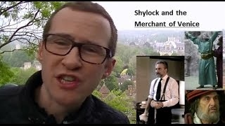 Explore the character and presentation of Shylock in The Merchant of Venice