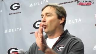 Kirby Smart on the Progress of Riley Ridley and the Other Early Enrollees